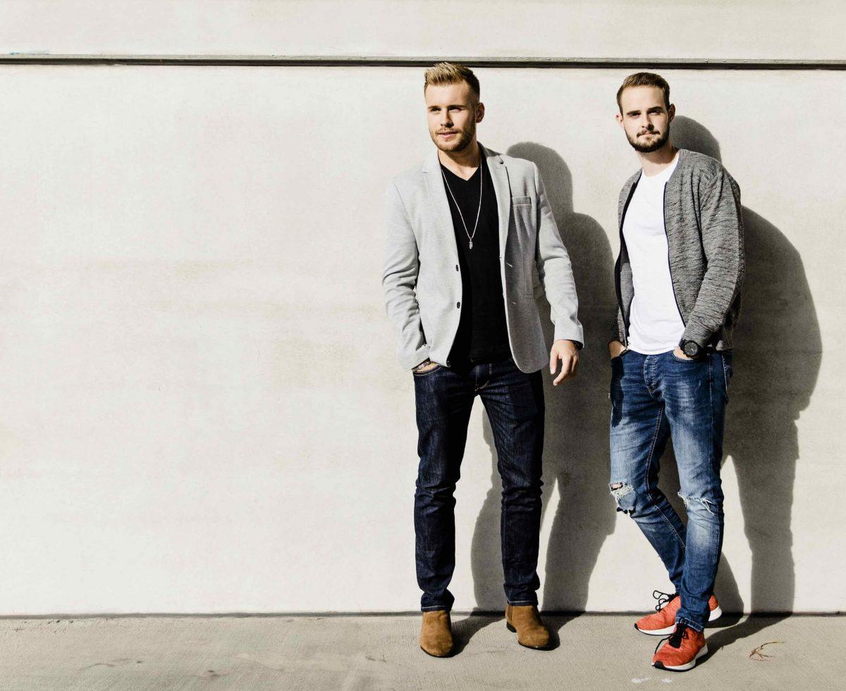 """Mit ihrem YouTube-Kanal """"The Simple Club"""" wollen Alexander Giesecke (links) und Nicolai Schork Mathe verständlich erklären."""