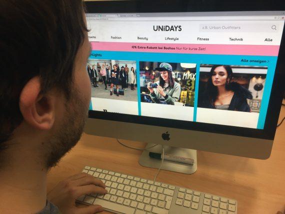 Das Portal Unidays bietet verlockende Rabatte für Studenten – verlangt dafür jedoch viele Daten.