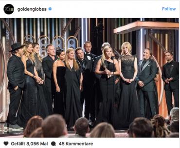 Golden Globes 2018: Warum die Promis als Zeichen gegen sexuellen Missbrauch Schwarz tragen