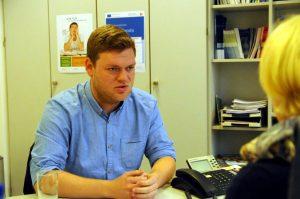 Bastian (24) will mit einer Ausbildung einen Neuanfang wagen. Foto: Till Bücker