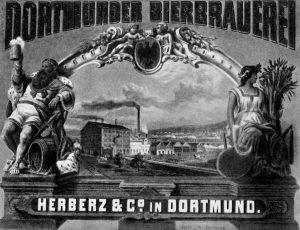 Erste Ansicht der Brauerei