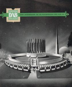 DAB-Pavillon auf der Weltausstellung in New York
