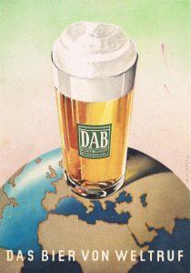 Alte Werbung der DAB