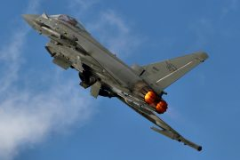 Eurofighter F-2000A Typhoon. Bild: Flickr / Airwolfhound