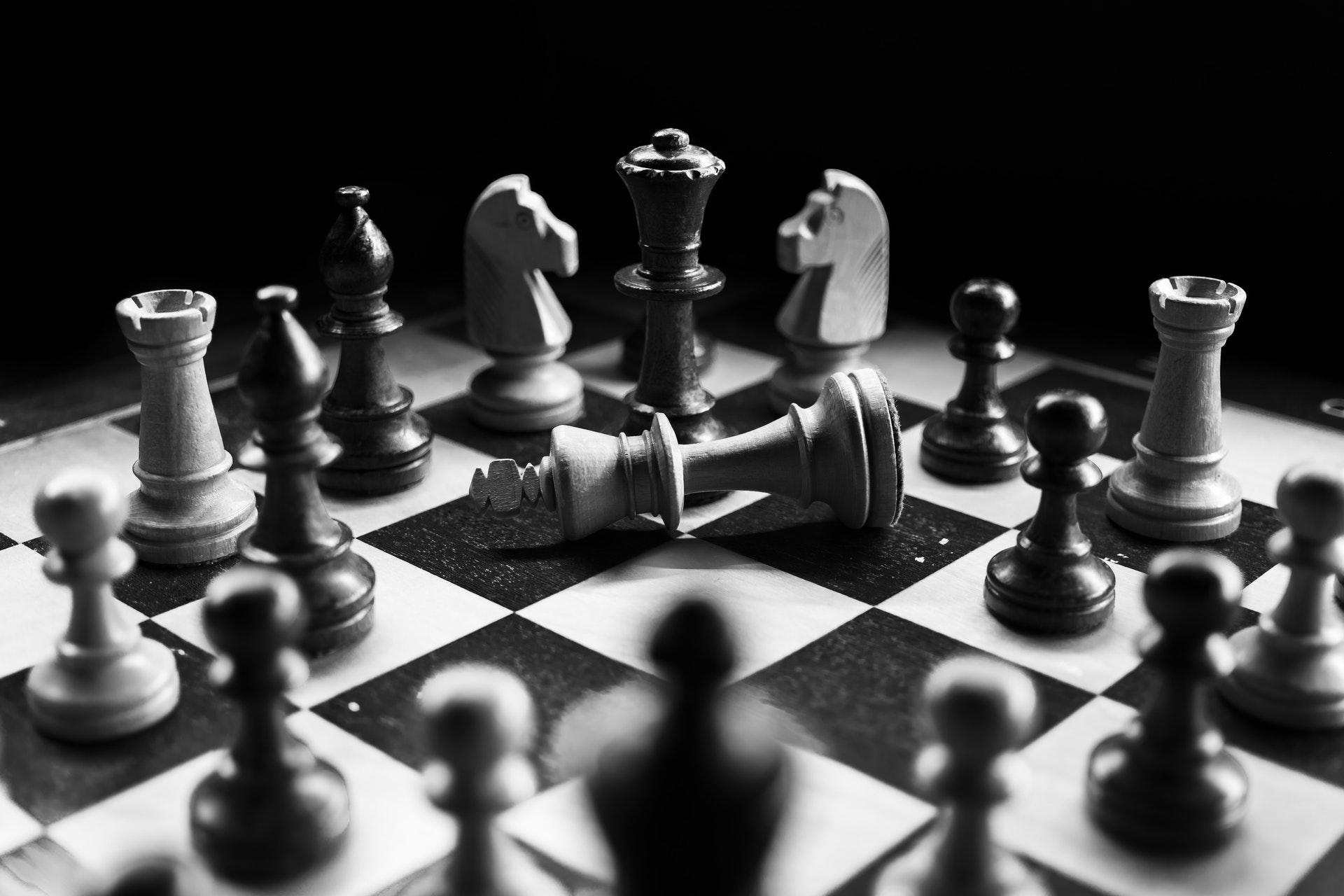 Schach Nur Noch König