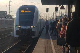 Der RRX befährt die erste Strecke zwischen Düsseldorf und Kassel seit Dezember 2018.