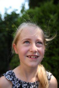 Carlotta (8) ist hochbegabt. Foto: Simon Jost