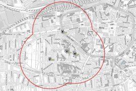 Bombenentschärfung im Klinikviertel Dortmund. Foto: Stadt Dortmund