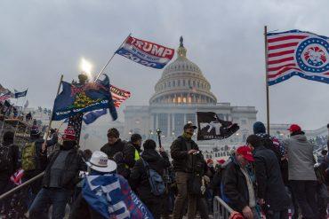 Randalierer am Kapitol in Washington