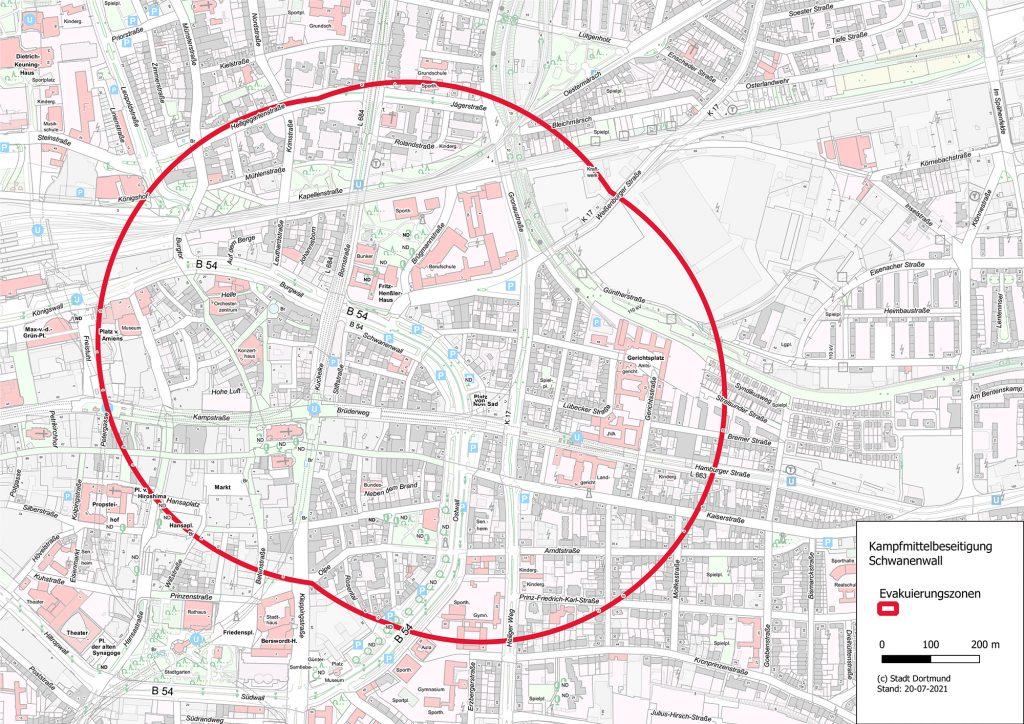 Bombenfund in der Dortmunder Innenstadt: Entschärfung im August