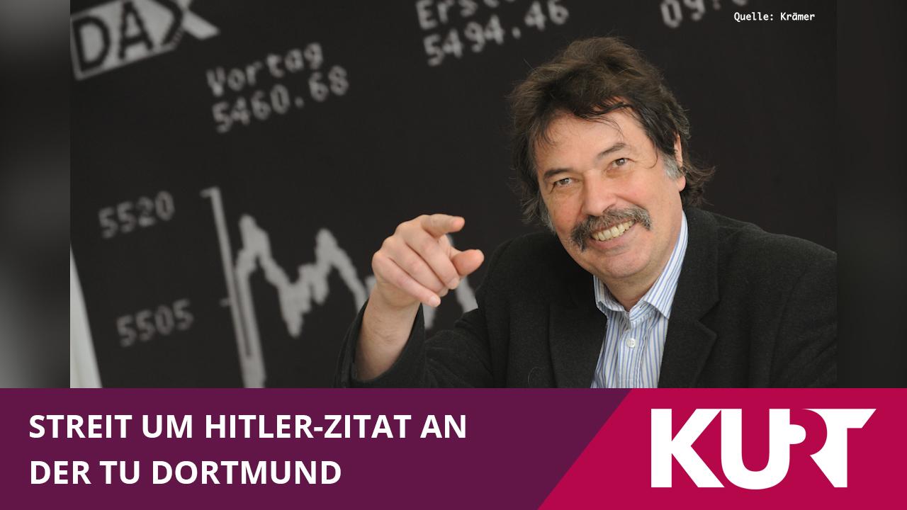 Kurier Umstrittenes Hitler Zitat An Der Tu Dortmund Kurt