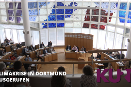 In Dortmund wurde die Klimakrise ausgerufen. Dadurch sollen künftige Entscheidungen besonders in Hinblick auf das Klima diskutiert werden.